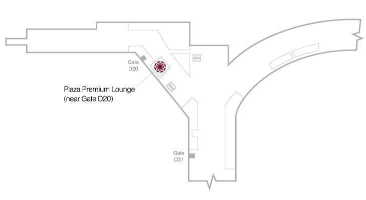 多伦多皮尔逊国际机场plaza premium lounge (t1 domestic)