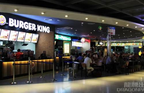 曼谷素萬那普機場Burger King